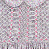 Remi Smocked Baby Dress, Pink - Dresses - 4