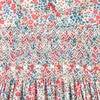 Amara Smocked Baby Dress, Pink & Blue - Dresses - 4