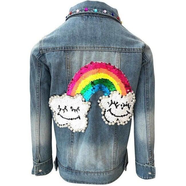 Rainbow Gems Jacket, Denim