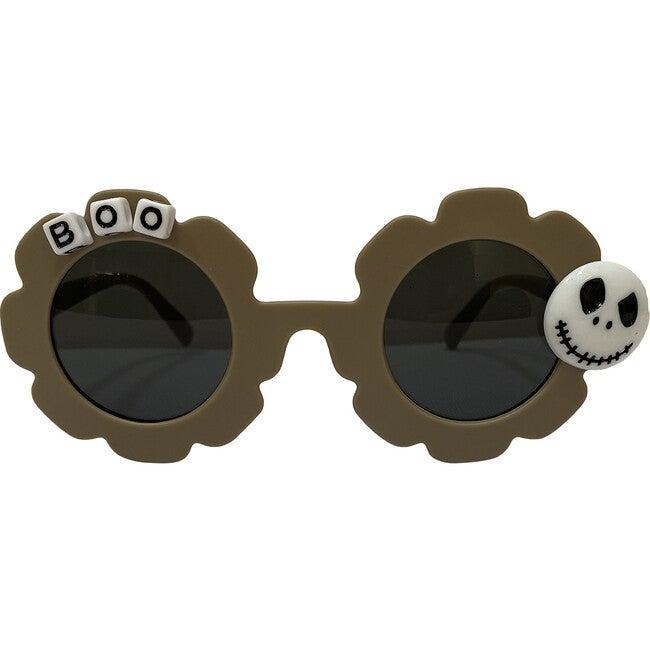 Halloween Skeleton Sunglasses, Green