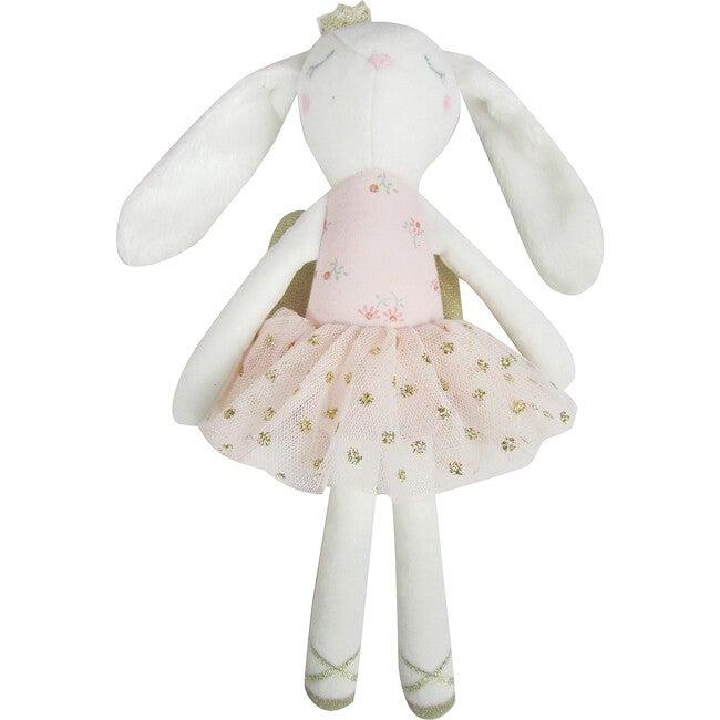 Sparkle Floral White Midi Bunny