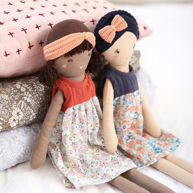 Flower Aria Linen Doll