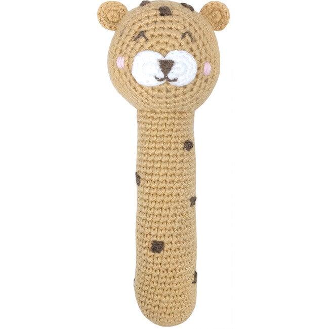 Crochet Cecile Cheetah Stick Rattle