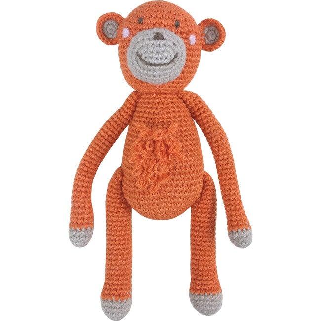 Crochet Marcel Monkey Rattle Toy