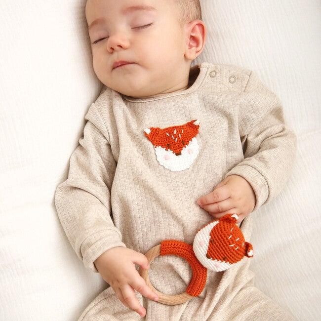 Crochet Fox Ring Rattle