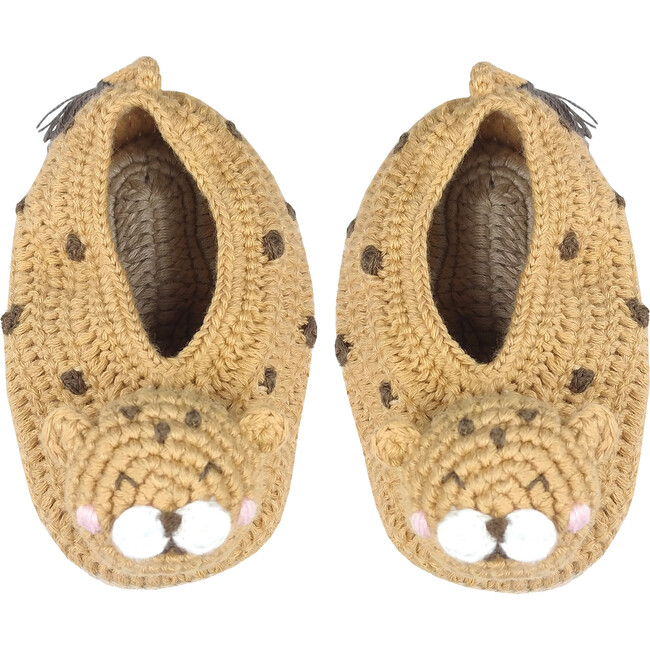 Crochet Cecile Cheetah Booties