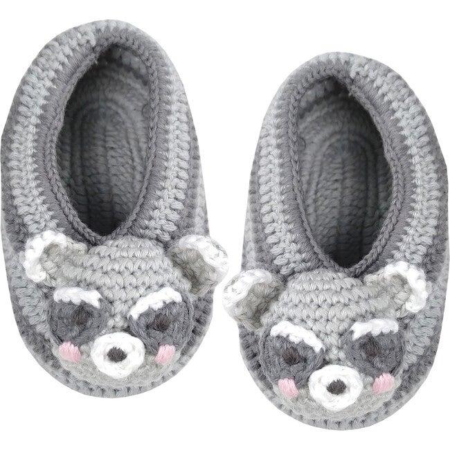 Crochet Raccoon Booties - Booties - 1