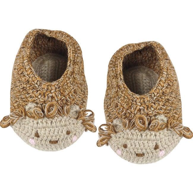 Crochet Hedgehog Booties