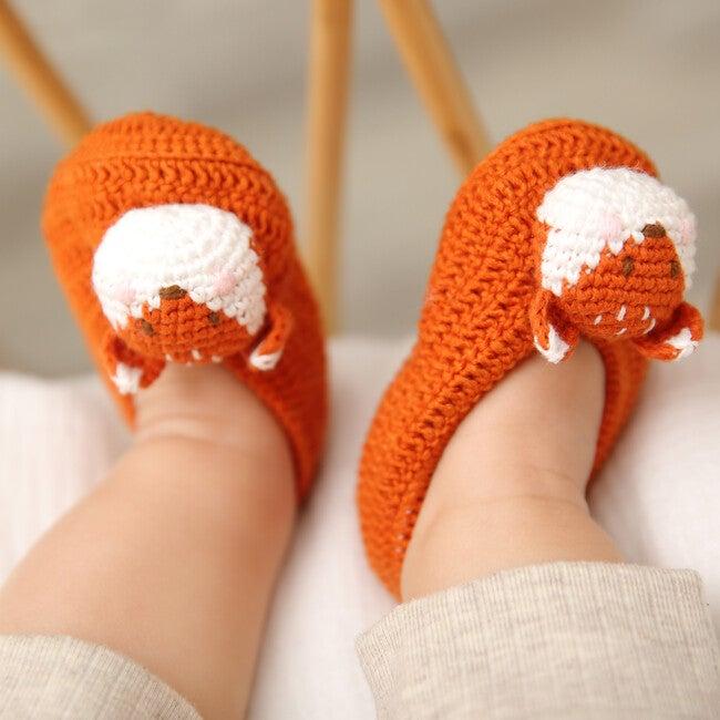 Crochet Fox Booties