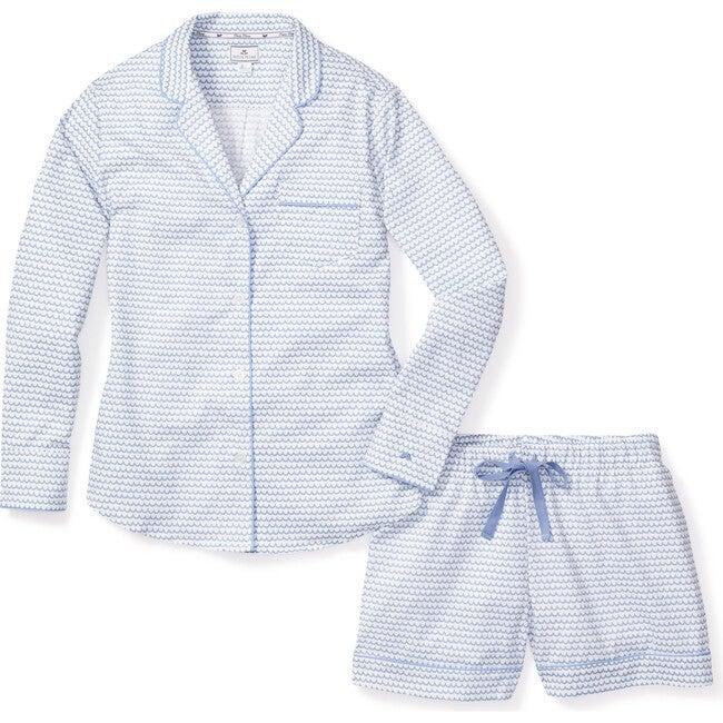 Women's Long Sleeve Short Set, La Mer
