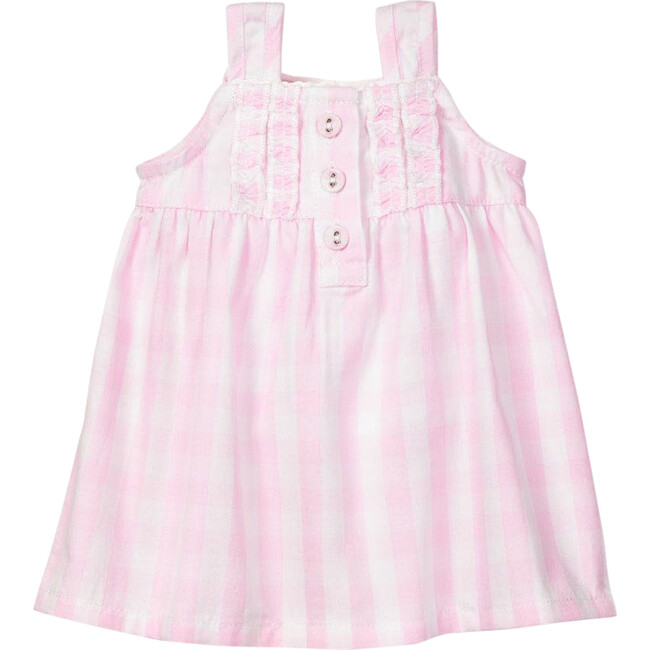 Pink Gingham Doll Nightgown