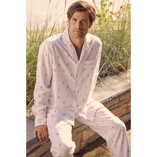 Men's Pajama Set, Bateau