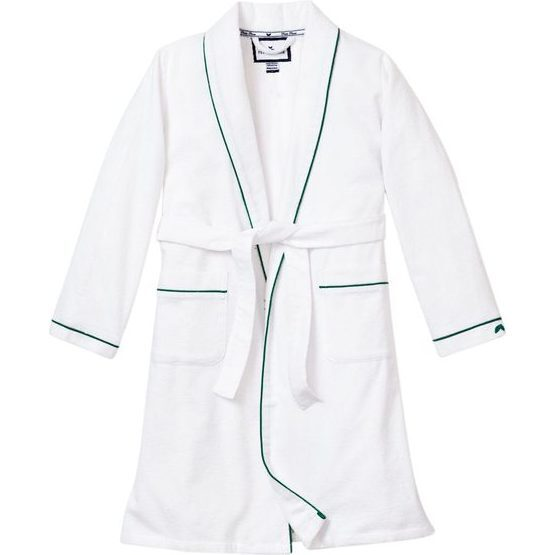 White Robe, Forest Green Piping
