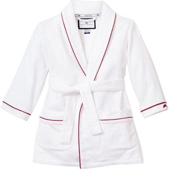 White Robe, Garnet Red Piping