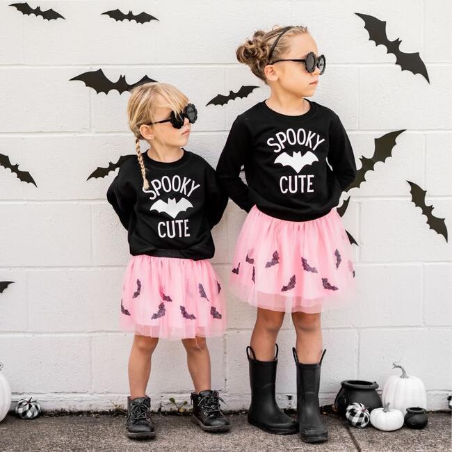 Spooky Cute L/S Sweatshirt, Black