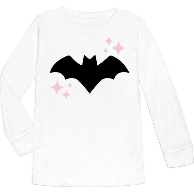 Bat L/S Shirt, White