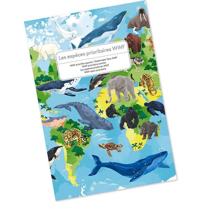 Educational Puzzle: WWF Priorities Species, 350 Pieces