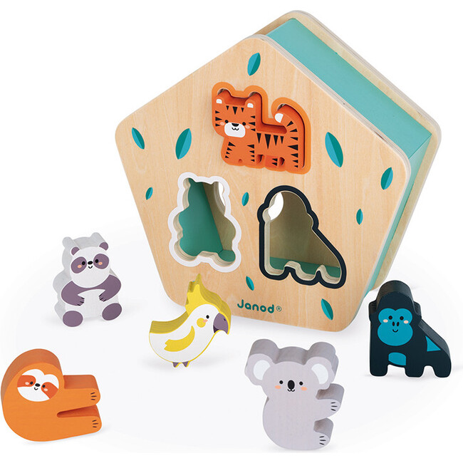 Animal Shapes Wooden Sorting Box (in Partnership with WWF®)