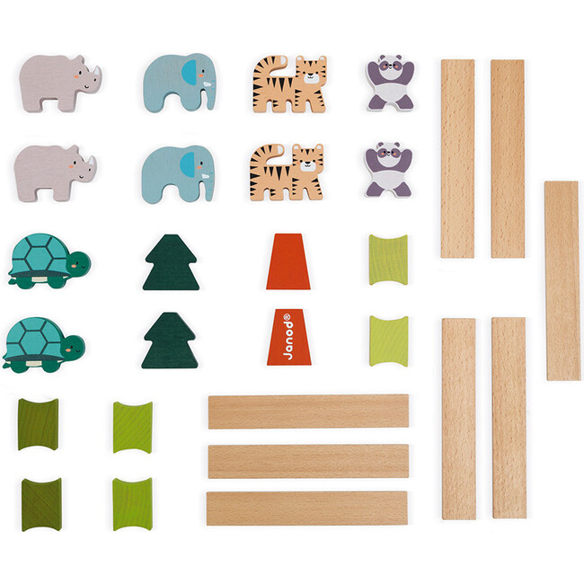 Wooden Balancing Animals Game (in Partnership with WWF®)