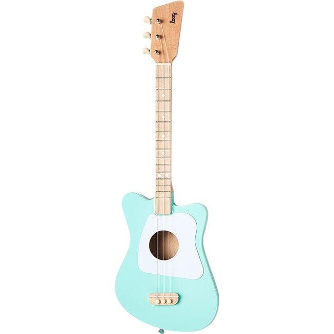 Mini 3-String Guitar, Green