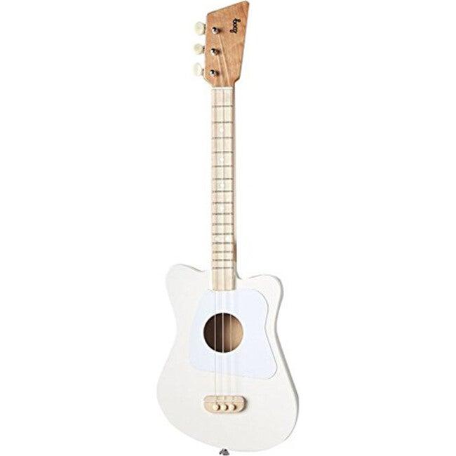 Mini 3-String Guitar, White