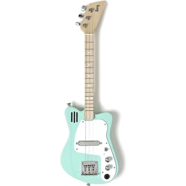 Green Mini 3-String Electric Guitar