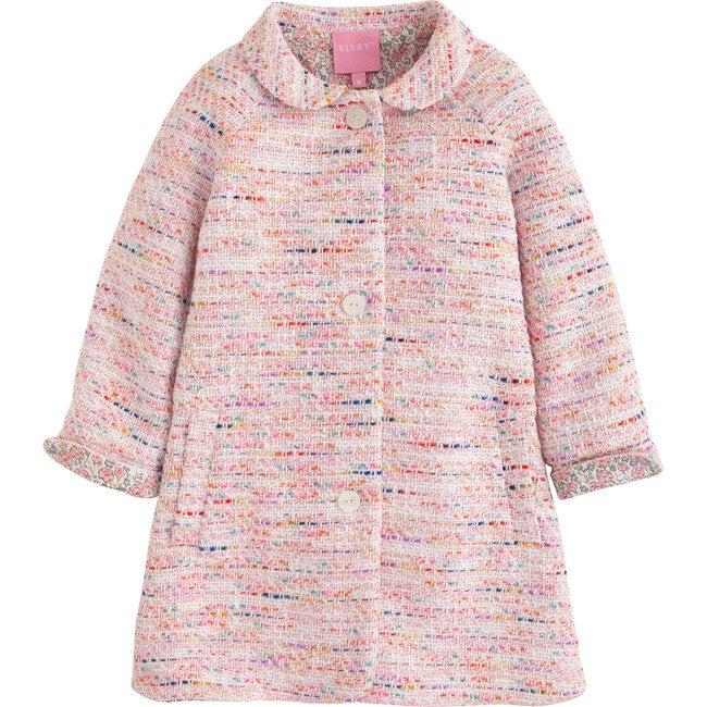 Cotswold Coat, Pink Boucle