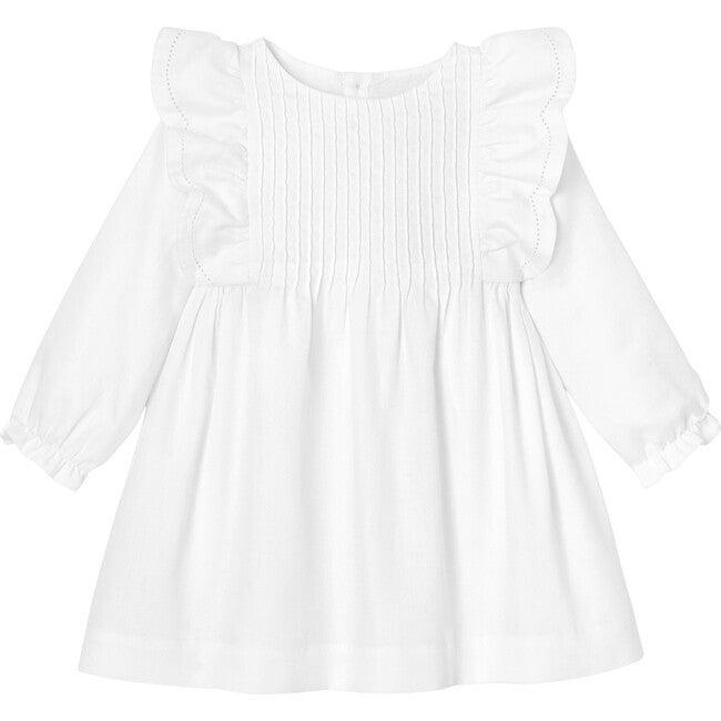 Toddler Formal Dress, White