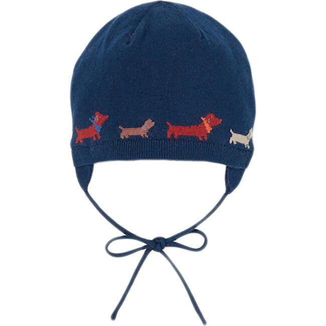 Baby Jacquard Dogs Hat, Multi