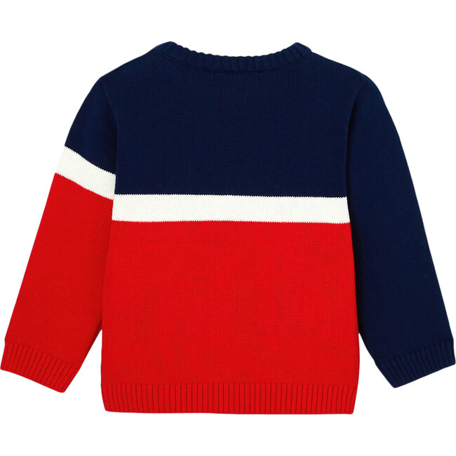 Toddler Color Block Sweater, Multi