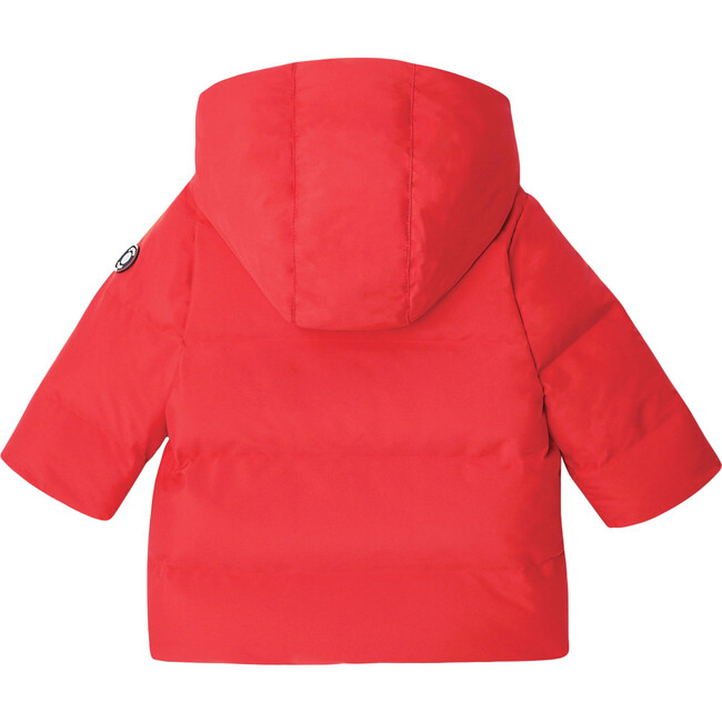Toddler Parka, Bright Red