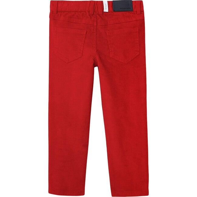Corduroy Pants, Ruby Red