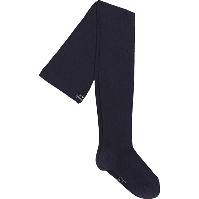 Solid Tights, Navy Blue