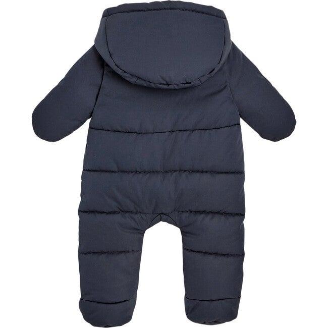 Baby Nylon Snowsuit, Navy Blue