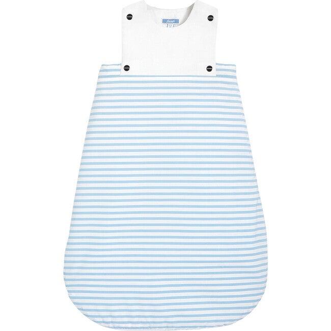 Sleeping Bag, Blue & White