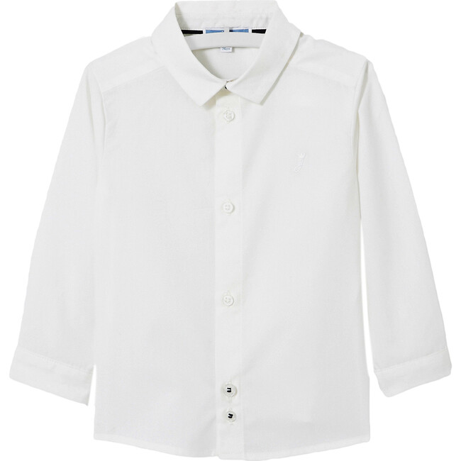 Toddler Oxford Shirt, White