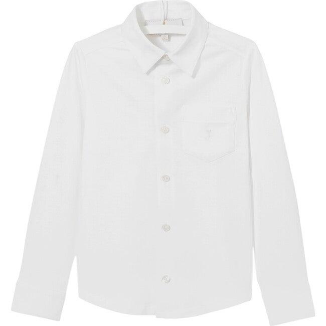 Patch Pocket Buttondown Shirt, White