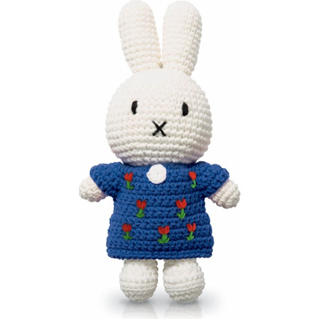 Miffy and her Blue Tulip Dress