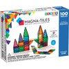 Magna-Tiles Clear Colors 100-Piece Set - STEM Toys - 4