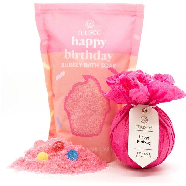 Happy Birthday Bath Balm & Soak Duo - Bath Salts & Soaks - 1