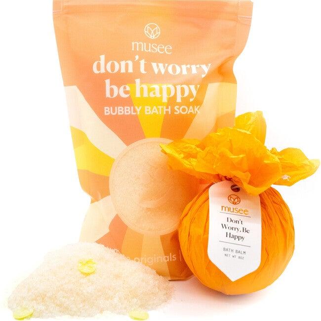 Don't Worry Be Happy Bath Balm & Soak Duo - Bath Salts & Soaks - 1