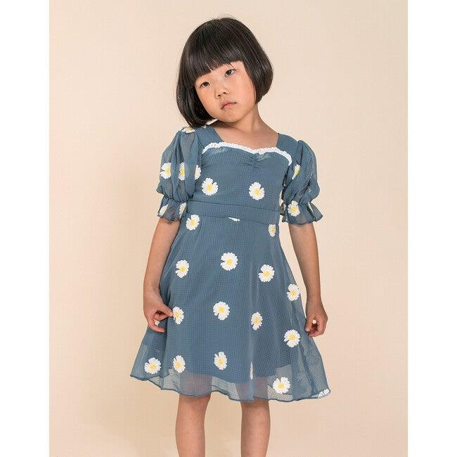 Mini Daisy Embroidered Dress