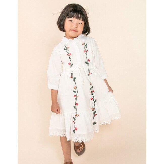 Mini Juno Embroidered Dress
