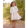 Mini Juno Embroidered Dress - Dresses - 3