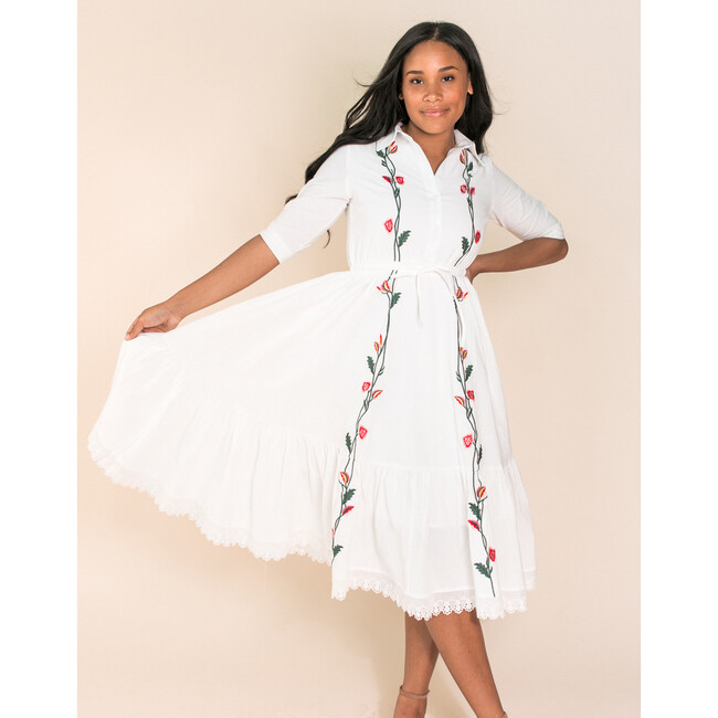 Juno Embroidered Dress