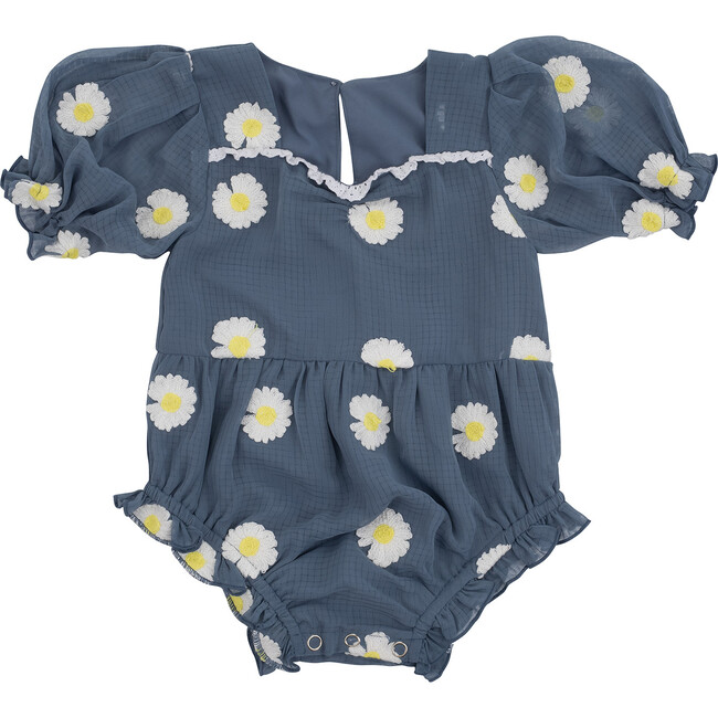Baby Daisy Embroidered Romper