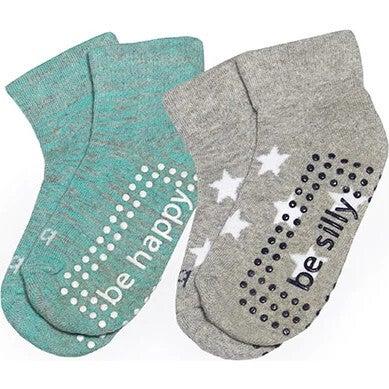 Dakota Toddler 2 Pack Grip Socks, Multi - Socks - 1