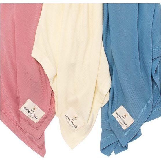 Merino Wool Companion Blanket, Rose Tan