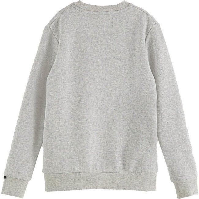 Logo Sweater, Grey