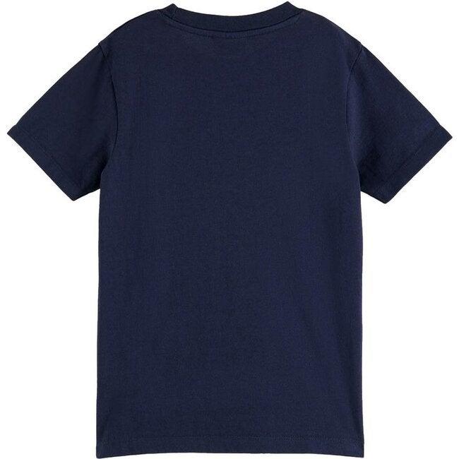 Logo T-Shirt, Navy